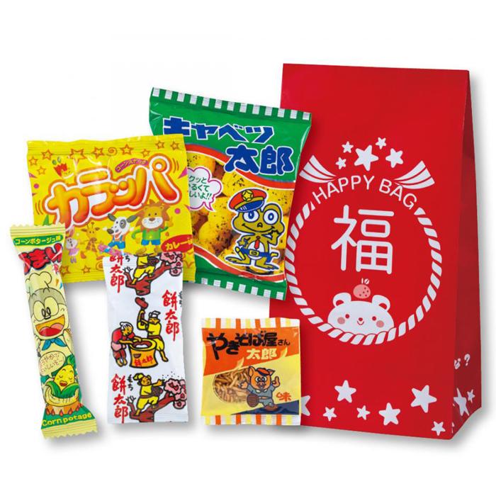 その他 【100個セット】お菓子福袋5点セット 2270036
