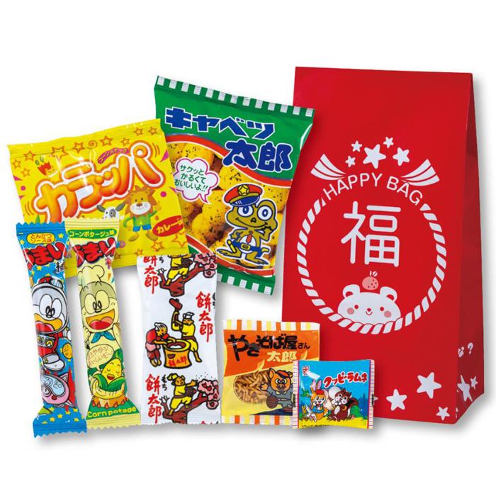 その他 【100個セット】お菓子福袋7点セット 2270037