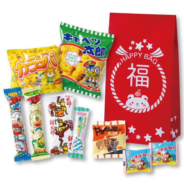 その他 【80個セット】お菓子福袋9点セット 2270038