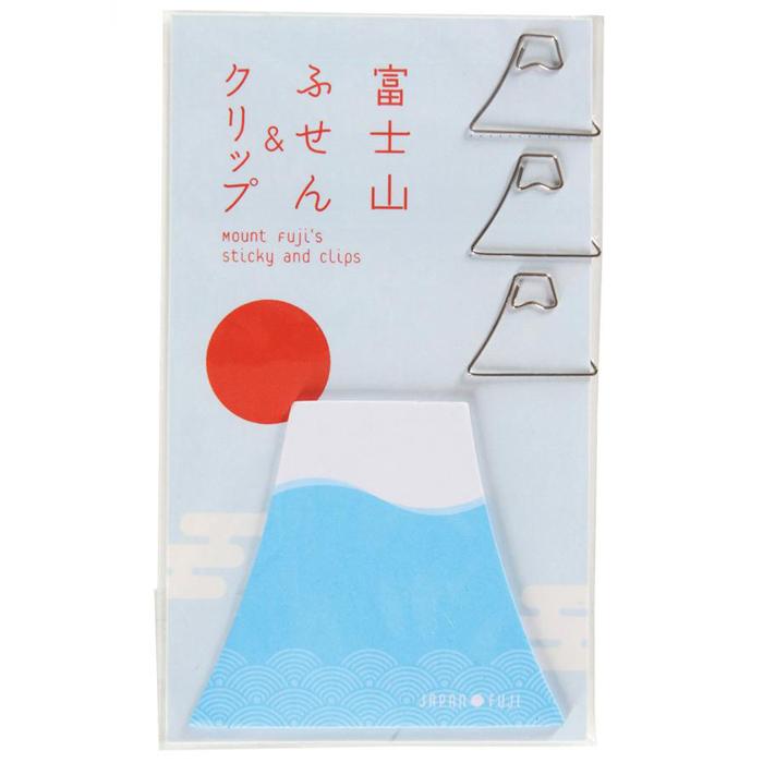 その他 【400個セット】富士山ふせん&クリップ 2214583