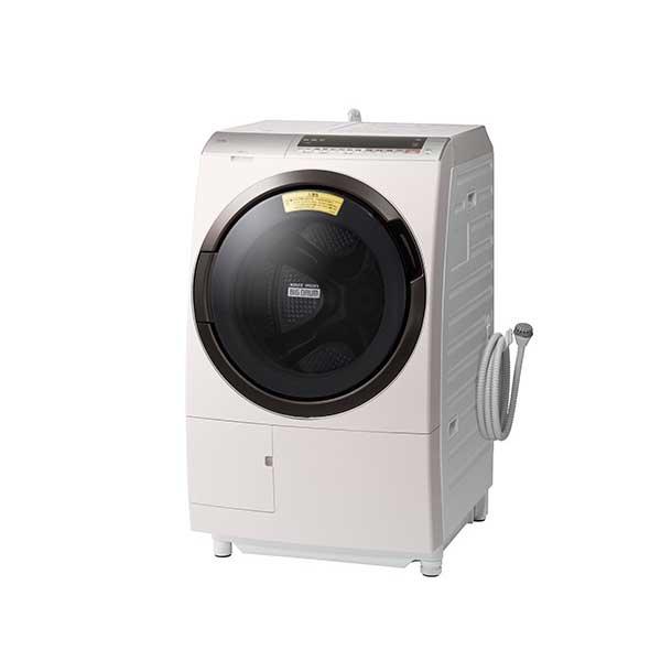 日立 洗濯11.0kg 乾燥6.0kg ドラム式洗濯乾燥機 左開き ロゼシャンパン BD-SX110EL-N