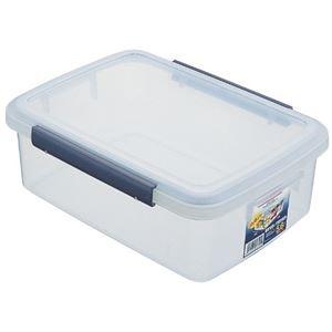 その他 (まとめ) 保存容器/キッチンボックス 【5.6L】 プラスチック製 パッキン付き ユニックス ウィル 【36個セット】 ds-2259790