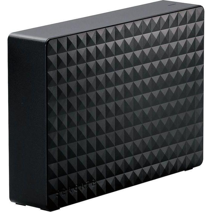 エレコム 外付けハードディスク/USB3.2(Gen1)/4TB/Seagate New Expansion MYシリーズ/ブラック SGD-MY040UBK