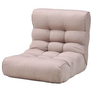 その他 ソファー座椅子/フロアチェア 【ベージュ】 41段階リクライニング 『ピグレットビッグ2nd-セレクト』 ds-2251949