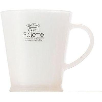 岩崎工業 カラーパレットカップ ホワイト 250ml C-425 (マグカップ) 60個セット【沖縄・離島配達不可】 4901126242588-60