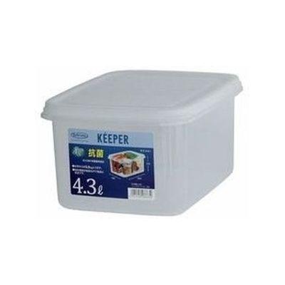 岩崎工業 保存容器 キーパー ジャンボケースS 深型B-886AG 24個セット【沖縄・離島配達不可】 4901126288630-24