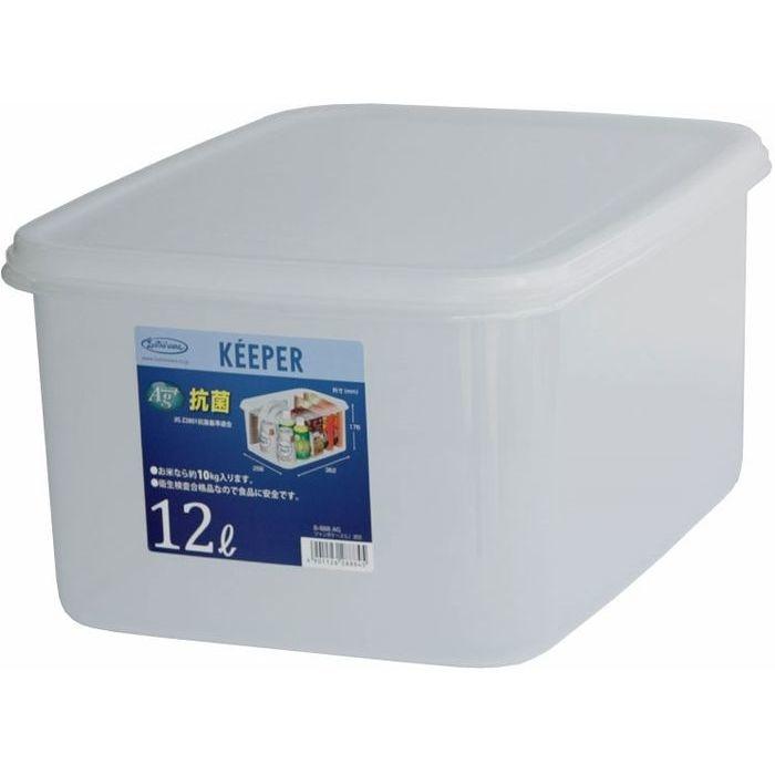 岩崎工業 保存容器 キーパー ジャンボケースL 深型B-888AG 9個セット【沖縄・離島配達不可】 4901126288845-9