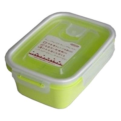 岩崎工業 保存容器 スマートフラップ&ロックス 660ml(M) 1P グリーン 90個セット【沖縄・離島配達不可】 4901126316166-90