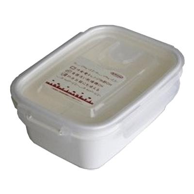 岩崎工業 保存容器 スマートフラップ&ロックス 660ml(M) 1P ホワイト 90個セット【沖縄・離島配達不可】 4901126316173-90