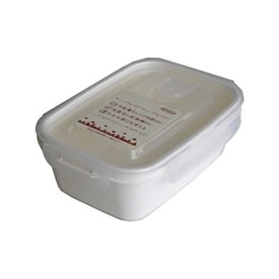 岩崎工業 保存容器 スマートフラップ&ロックス 900ml(L) 1P ホワイト 60個セット【沖縄・離島配達不可】 4901126316265-60
