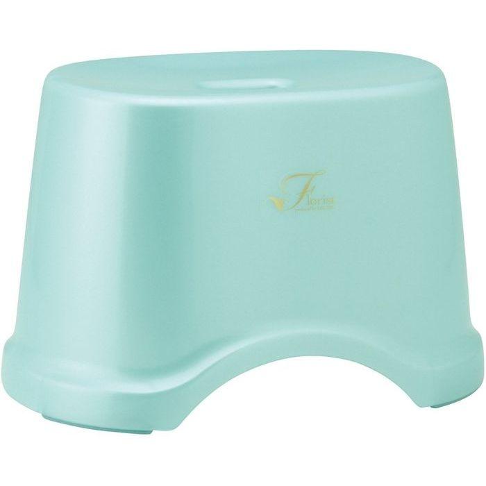 レック 風呂椅子 Florist 高さ22cm ブルー ( バスチェア 風呂 いす ) 12個セット【沖縄・離島配達不可】 4903320756151-12