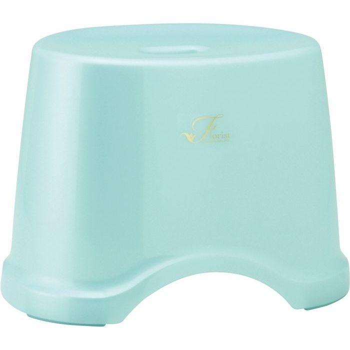 レック 風呂椅子 Florist 高さ25cm ブルー ( バスチェア 風呂 いす ) 12個セット【沖縄・離島配達不可】 4903320756250-12