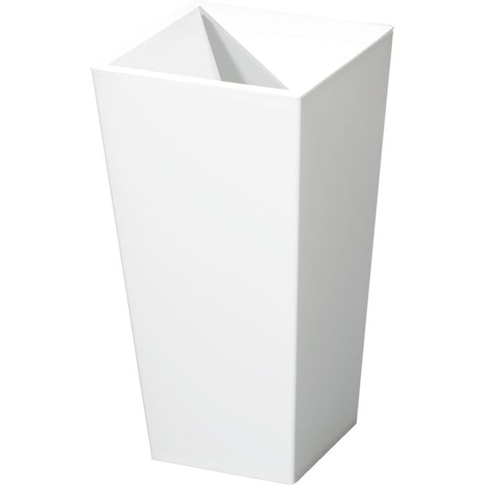 新輝合成 ユニード カクス S-36 ホワイト (ごみ箱) 20個セット【沖縄・離島配達不可】 4973221009816-20