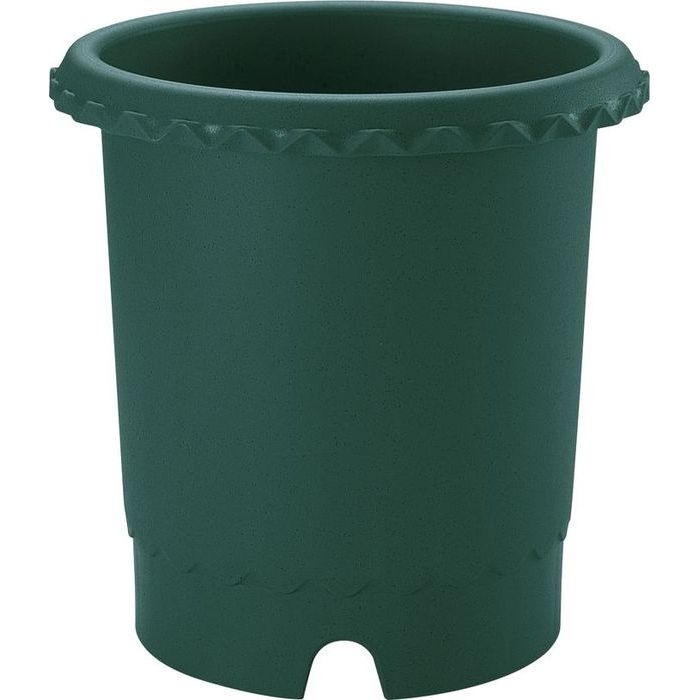 リッチェル 植木鉢 バラ鉢12号 ダークグリーン 14個セット【沖縄・離島配達不可】 4973655716236-14