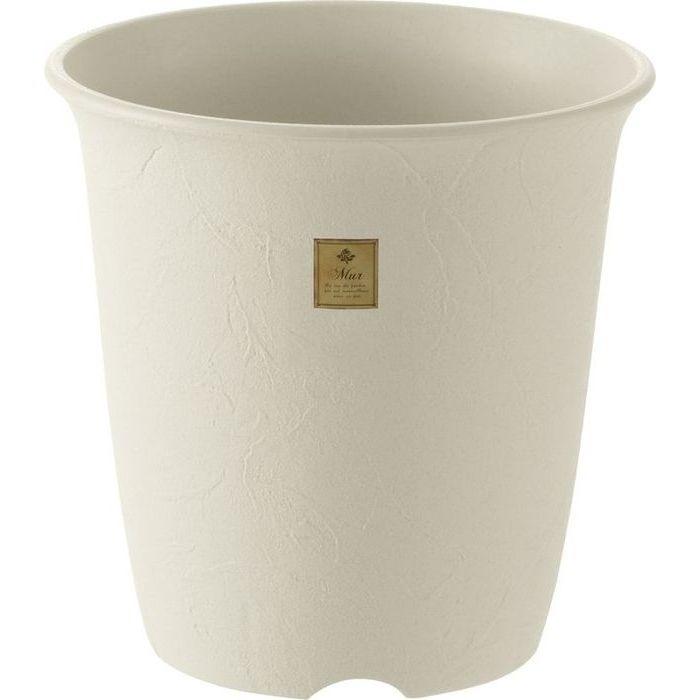 リッチェル 植木鉢 ムール ハイポット10号 ホワイト 20個セット【沖縄・離島配達不可】 4973655796047-20