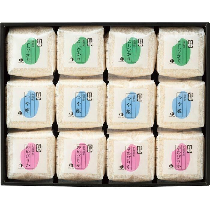 その他 越後ファーム 人気品種食べ比べセット NT-12(包装・のし可)(包装・のし可) 11126869