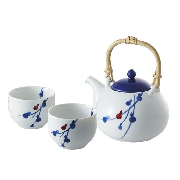 その他 miyama. fucube 茶器セット(染付六ツ瓢) 94-126-141(包装・のし可)(包装・のし可) 4941043912645