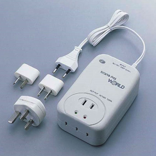 スワロー電機 電圧安定機能搭載変圧器110-240V対応 120W WORLD-120【納期目安:2週間】