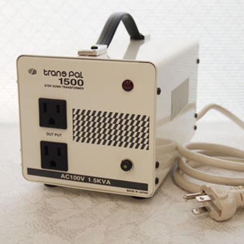 スワロー電機 ダウントランス 120V→100V / 1500W PAL-1500AP【納期目安:2週間】