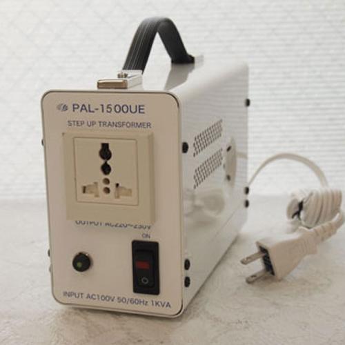 スワロー電機 アップトランス 100V→220・230V 1500W PAL-1500UE【納期目安:2週間】