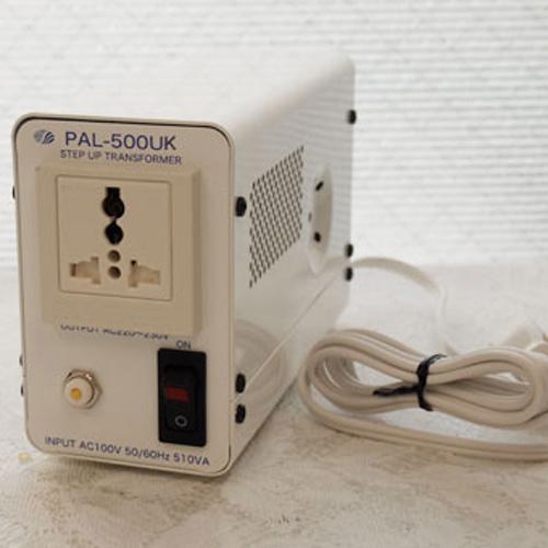 スワロー電機 アップトランス 100V→240V 500W PAL-500UK【納期目安:2週間】