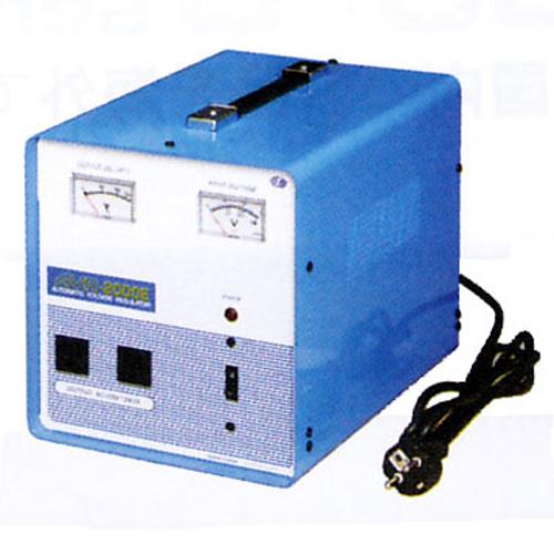 スワロー電機 電圧安定装置170~260V→100V 2000W AVR-2000E【納期目安:2週間】
