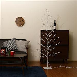 その他 コンパクト クリスマスツリー 【150cm】 DCアダプター付き 『LEDブランチツリー』 〔リビング 店舗 什器 備品〕【代引不可】 ds-2261885