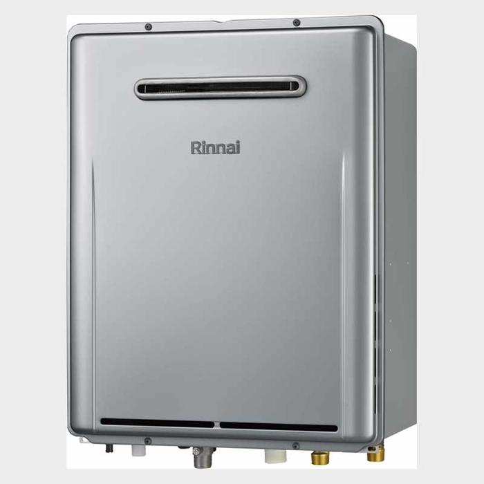 リンナイ eco 16号 屋外壁掛型ガスふろ給湯器 オート(都市ガス 12A/13A)(シャンパンメタリック)(※PS設置はできません) RUF-E1616SAW-12A