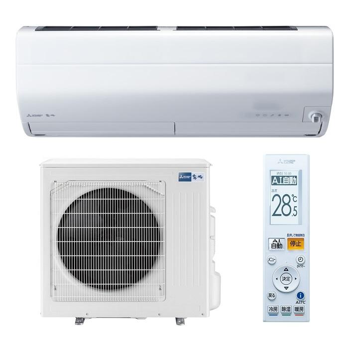 三菱電機 三菱 エアコン 「霧ヶ峰 Zシリーズ」 200V (29畳用) ピュアホワイト MSZ-ZW9020S-W