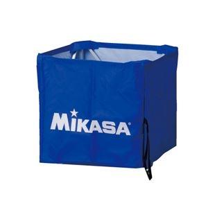 その他 MIKASA(ミカサ)器具 ボールカゴ用(箱型・小) 幕体のみ ブルー 【BCMSPSS】 ds-2262631
