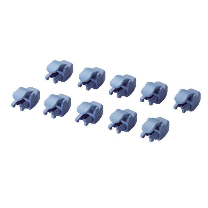 送料無料 エレコム メール便での発送商品 大幅にプライスダウン LANケーブル保護コネクタ 2020秋冬新作 ブルー 10個 LD-RJ45GPC 02入荷予定 BU10 納期目安:03