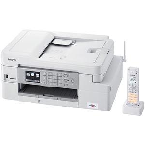 その他 ブラザー工業 A4インクジェット複合機/FAX/ADF/デジタル子機1台/有線・無線LAN/多目的トレイ/両面印刷 ds-2269747