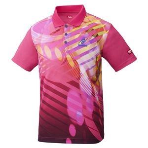 その他 Nittaku(ニッタク) 卓球アパレル TOROPIC SHIRT(トロピックシャツ) 男女兼用 ピンク XO ds-2267760