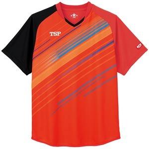 その他 TSP(ティーエスピー) 卓球アパレル ゲームシャツ ピオネーラシャツ レッド 2XS ds-2267883