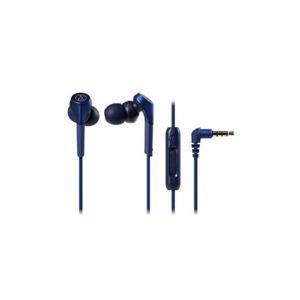 その他 Audio-Technica 【ハイレゾ音源対応】 スマートフォン用イヤホン ブルー ATH-CKS550XiS-BL ds-2268265