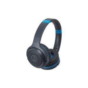 その他 Audio-Technica Bluetooth対応ヘッドセット グレーブルー ATH-S200BT-GBL ds-2268271