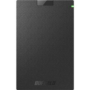 その他 バッファロー ミニステーション USB3.1(Gen.1)対応 ポータブルHDD スタンダードモデル ブラック2TB ds-2269665