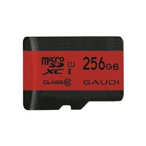 その他 グリーンハウス GAUDI microSDXCカード UHS-I U1 クラス10 256GB 3年保証 ds-2269952