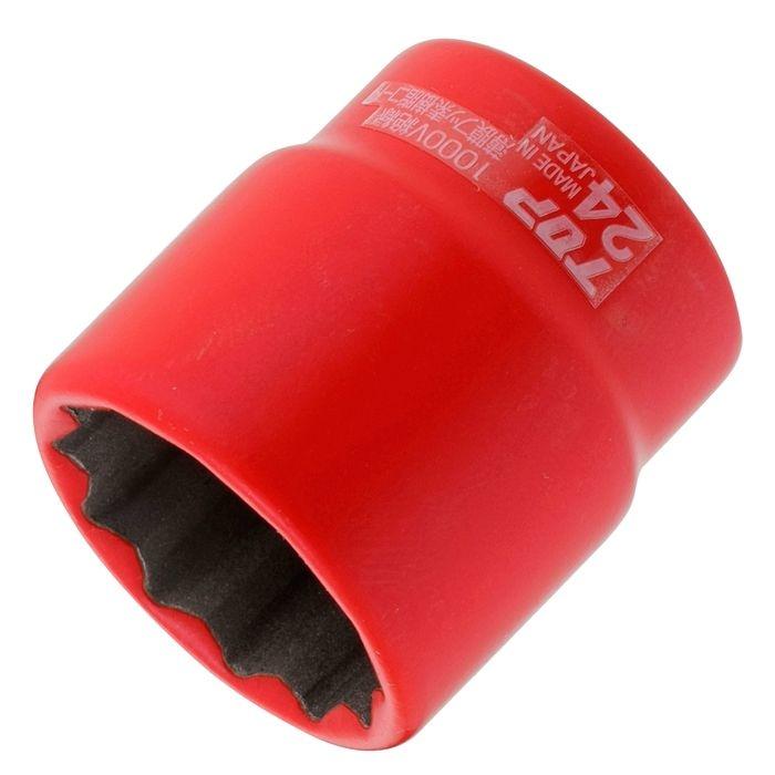 トップ工業 絶縁ソケット(差込角12.7) S-424ZR 4975180340467
