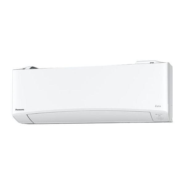 パナソニック インバーター冷暖房除湿タイプ エアコンセット 単相200V おもに10畳用 クリスタルホワイト CS-TX280D2-W【納期目安:2週間】