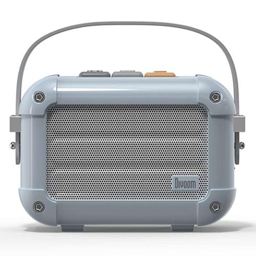 Divoom 手のひらサイズの本格派Bluetoothスピーカー ブルー MACCHIATO_BLUE