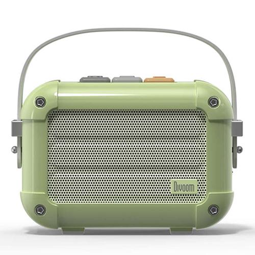Divoom 手のひらサイズの本格派Bluetoothスピーカー グリーン MACCHIATO_GREEN