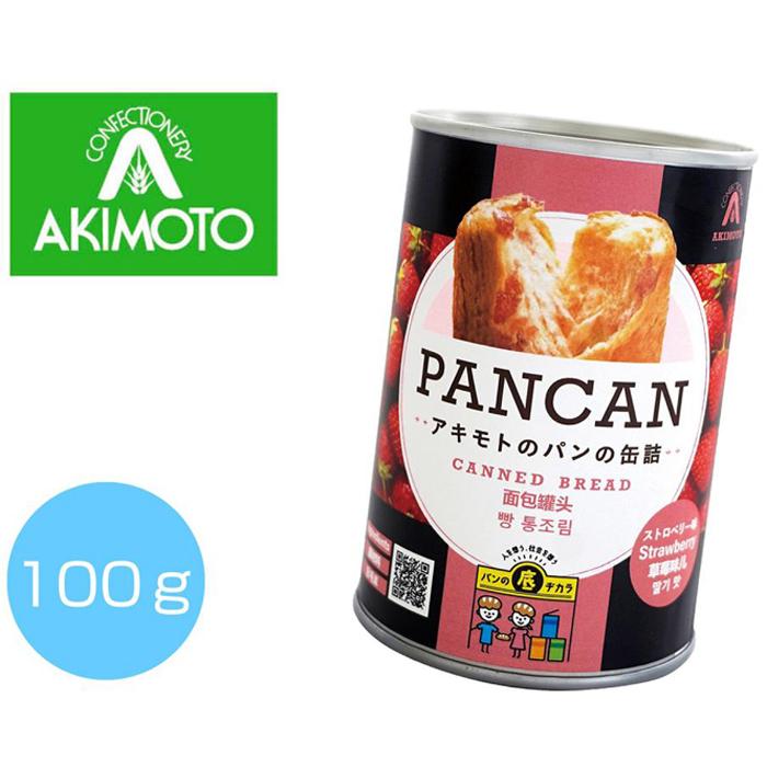 その他 【72個セット】パンの缶詰(多言語版)ストロベリー100g 2475236