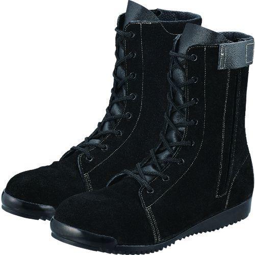 トラスコ中山 シモン 高所作業用安全靴 3033C付黒床 24.5 tr-1584402