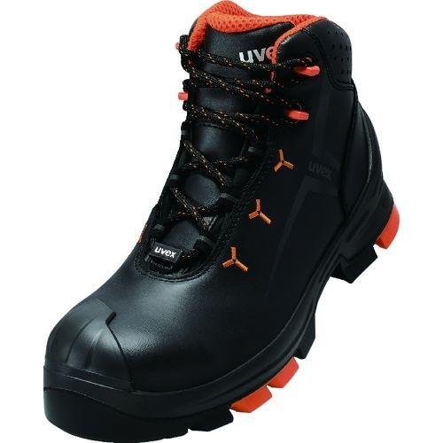 トラスコ中山 UVEX UVEX2 ブーツ ブラック 24.5CM tr-1494467