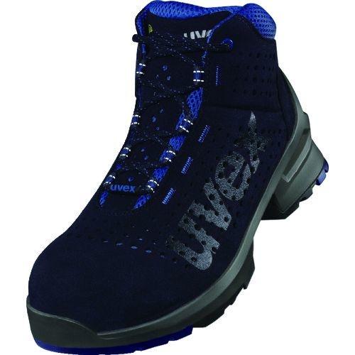トラスコ中山 UVEX ウベックス1 ブーツ ネイビー 24.5CM tr-1494482
