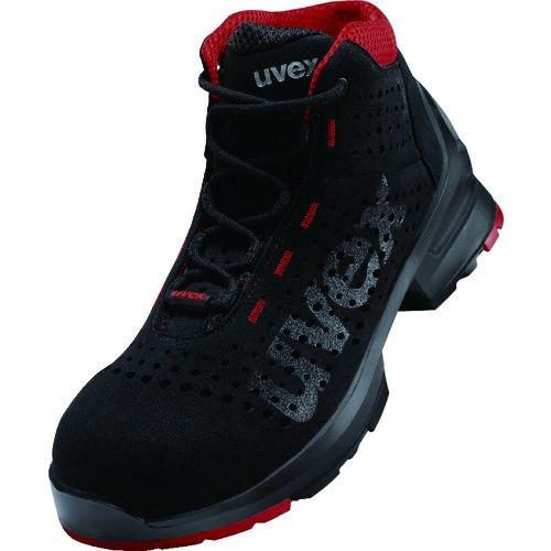 トラスコ中山 UVEX ブーツ ブラック 24.5CM tr-1494493