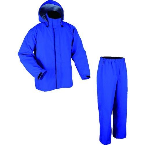 トラスコ中山 前垣 AP2000ゴアテックスレインスーツ ブルー ELサイズ tr-1602599