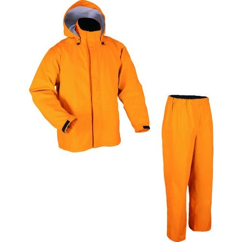トラスコ中山 前垣 AP2000ゴアテックスレインスーツ オレンジ BLサイズ tr-1602606