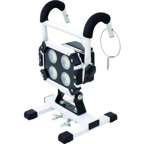 トラスコ中山 日動 充電式LED 着脱式ハンガーチャージライトスポット40W マルチチェンジャー付 tr-1488130
